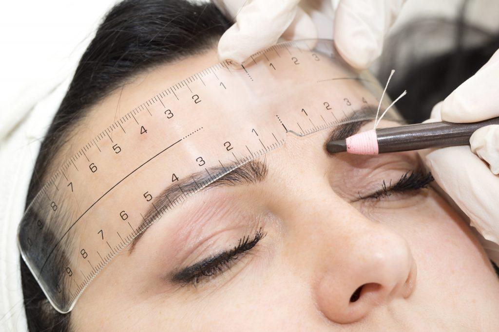 preparing for semi permenant eyebrows